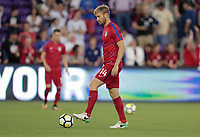 Orlando, FL - Friday Oct. 06, 2017: Tim Ream during a 2018 FIFA World Cup Qualifier between the men's national teams of the United States (USA) and Panama (PAN) at Orlando City Stadium.