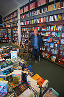 David Hedley, owner of Hedleys Booksellers in Masterton, New Zealand on Friday, 4 August 2020. Photo: Dave Lintott / lintottphoto.co.nz