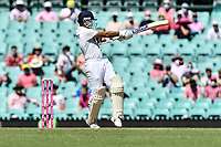 9th January 2021; Sydney Cricket Ground, Sydney, New South Wales, Australia; International Test Cricket, Third Test Day Three, Australia versus India; Ajinkya Rahane of India batting