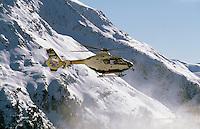 Helikopter am Giggijoch, Sölden in Tirol, Österreich
