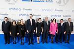 Spanish politic Soraya Saez de Santamaria, Ana Pastor, King Felipe and  Queen Letizia attends the Expansion newspaper 30th anniversary at the Palace Hotel, Madrid.  February 7th 2017. (ALTERPHOTOS/Rodrigo Jimenez)