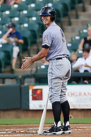 Omaha Storm Chasers outfielder Wil Myers #8 heads to the plate during the Pacific Coast League baseball game against the Round Rock Express on July 20, 2012 at the Dell Diamond in Round Rock, Texas. The Chasers defeated the Express 10-4. (Andrew Woolley/Four Seam Images).