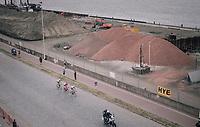 breakaway group: Jurgen Roelandts (BEL/Lotto-Soudal),  Kevyn Ista (BEL/WB Veranclassic - Aquality Protect) & Jonas Rickaert (BEL/SportVlaanderen-Baloise)<br /> <br /> 2017 National Championships Belgium - Elite Men - Road Race (NC)<br /> 1 Day Race: Antwerpen > Antwerpen (233km)