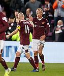 26.01.2020 Hearts v Rangers: Steven Naismith amd Liam Boyce