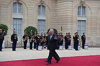 Paris (75)- Palais de l'Elysee- Ceremonie díinstallation de M. Emmanuel MACRON, PrÈsident de la RÈpublique, le dimanche 14 mai , Gerard Larcher