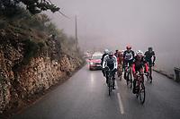 Jarlinson Pantano (COL/Trek-Segafredo) in the brakaway group<br /> <br /> 76th Paris-Nice 2018<br /> Stage 7: Nice > Valdeblore La Colmiane (175km)