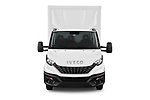Car photography straight front view of a 2020 Iveco Daily C 2 Door Van Box Front View