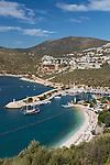 Turkey, Province Antalya, Kalkan: popular resort on the Mediterranean Coast | Tuerkei, Provinz Antalya, Kalkan: beliebter Ferienort an der Mittelmeerkueste