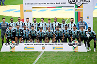 PORTO ALEGRE, RS, 23.05.2021 - GREMIO - INTERNACIONAL - A equipe do Grêmio, na partida entre Grêmio e Internacional, pela final do Campeonato Gaúcho 2021, no estádio Arena do Grêmio, em Porto Alegre, neste domingo (23).
