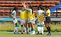 MEDELLÍN- COLOMBIA, 18-07-2021: Independiente Medellín y Atlético Nacional en partido por la fecha 2 como parte de la Liga Femenina BetPlay DIMAYOR 2020 jugado en el estadio Atanasio Girardot de la ciudad de Medellín  / Independiente Medellin and Atletico Nacional in match for the date 2 as part of Women's BetPlay DIMAYOR 2021 League, played at Atanaso Girardot stadium in Medellin city. Photo: VizzorImage / Donaldo Zuluaga / Contribuidor