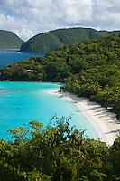 Trunk Bay, St John.Virgin Islands National Park.