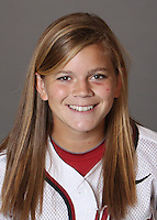 STANFORD, CA - OCTOBER 29:  Ashley Hansen of the Stanford Cardinal softball team poses for a headshot on October 29, 2009 in Stanford, California.