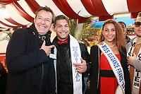 JEAN LUC REICHMANN, MISTER FRANCE 2017 & LIVIA HOARAU, Miss Elegance 2017 - Soirée d'inauguration de la foire du trône 2017 - Paris, France - 31/03/2017
