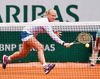 France, Paris , May 26, 2015, Tennis, Roland Garros, Kiki Bertens (NED)<br /> Photo: Tennisimages/Henk Koster