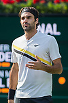 March 18, 2018: Roger Federer (SUI) defeated by Juan Martin Del Potro (ARG) 6-4, 6-7(8), 7-6(2) in the Finals of the BNP Paribas Open at the Indian Wells Tennis Garden in Indian Wells, California. ©Mal Taam/TennisClix/CSM