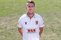 Matt Quinn of Essex poses for a portrait during the Essex CCC Press Day at The Cloudfm County Ground on 30th July 2020