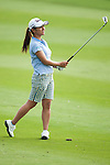 CHON BURI, THAILAND - FEBRUARY 16:  Ai Miyazato plays a shoot on the 17 hole during day one of the LPGA Thailand at Siam Country Club on February 16, 2012 in Chon Buri, Thailand.  Photo by Victor Fraile / The Power of Sport Images