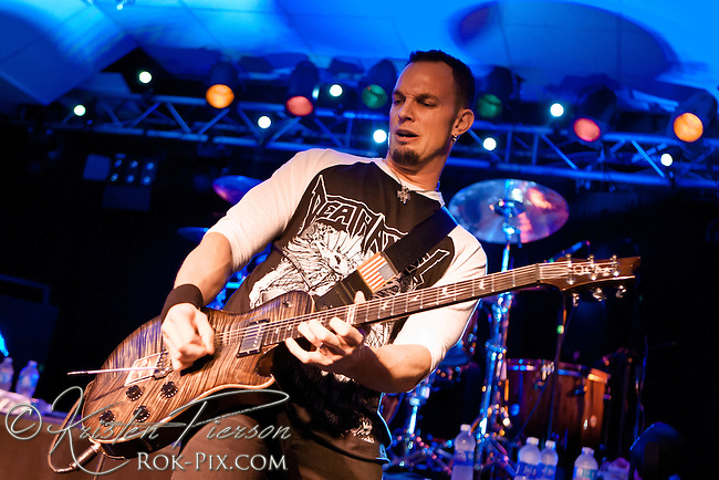 Mark Tremonti performs at the Rock Junction in Coventry, Rhode Island on September 11, 2012