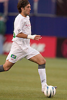 New England Revolution's Clint Dempsey. The New England Revolution played the NY/NJ MetroStars to a 1 to 1 tie at Giant's Stadium, East Rutherford, NJ, on April 25, 2004.