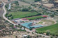 Primero Elementary School, Trinidad, Colorado. Highway 12. June 2014. 85523