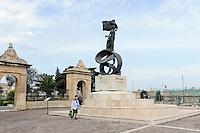 Unabhängigkeitsdenkmal im Florianapark in Valletta, Malta, Europa