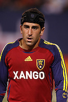 Real Salt Lake forward (11) Alecko Eskandarian. The NY Red Bulls and Real Salt Lake played to a 2-2 tie in an MLS regular season match at Giants Stadium, East Rutherford, NJ, on September 29, 2007.