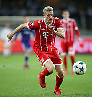 22.11.2017, Football UEFA Champions League 2017/2018,  , 5. match day, RSC Anderlecht - FC Bayern Muenchen, Constant Vanden Stock stadium in Anderlecht. Robert Lewandowski (Bayern Muenchen)  *** Local Caption *** © pixathlon<br /> <br /> +++ NED + SUI out !!! +++<br /> Contact: +49-40-22 63 02 60 , info@pixathlon.de