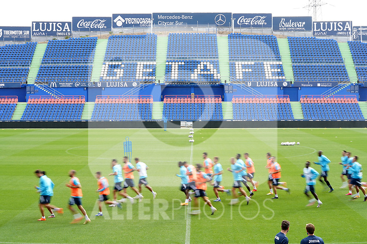 Getafe CF's team during training session. September 23, 2020.(ALTERPHOTOS/Acero)