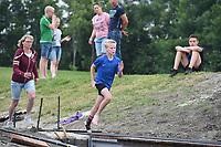 FIERLJEPPEN: WINSUM: 10-07-2021, Jeugdwedstrijden, ©foto Martin de Jong