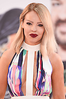 """Katie Piper<br /> arrives for the """"David Brent: Life on the Road"""" premiere at the Odeon Leicester Square, London.<br /> <br /> <br /> ©Ash Knotek  D3143  10/08/2016"""