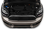 Car Stock 2020 MINI Countryman Cooper-Signature 5 Door Hatchback Engine  high angle detail view