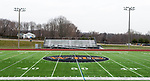 WATERTOWN, CT-011321JS04- WHS is at the 50-yard line on the John Mills Field at Watertown High School. The mascot committee is recommending the Watertown Board of Education replace the Indian mascot with Warrior. <br /> Jim Shannon Republican-American