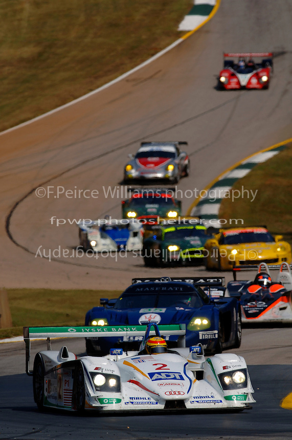 Frank Biela leads the field in the #2 Champion Audi...Copyright©F.Peirce Williams 2005.ref.Digital Image Only