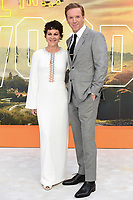 """Helen McCrory and Damian Lewis<br /> arriving for the """"Once Upon a Time... in Hollywood"""" premiere, Leicester Square, London<br /> <br /> ©Ash Knotek  D3514  30/07/2019"""