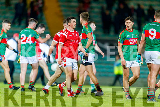 Paul Murphy, East Kerry team celebrates after the Kerry County Senior Football Championship Final match between East Kerry and Mid Kerry at Austin Stack Park in Tralee on Saturday night.