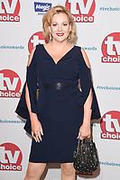 Sara Stewart<br /> arriving for the TV Choice Awards 2017 at The Dorchester Hotel, London. <br /> <br /> <br /> ©Ash Knotek  D3303  04/09/2017