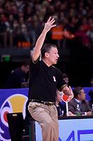 Jordan's Joseph Anthony in action during the FIBA World Cup Basketball Qualifier - NZ Tall Blacks v Jordan at Horncastle Arena, Christchurch, New Zealand on Thursday 29 November  2018. <br /> Photo by Masanori Udagawa. <br /> www.photowellington.photoshelter.com