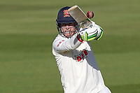 Peter Siddle of Essex in batting action during Warwickshire CCC vs Essex CCC, LV Insurance County Championship Group 1 Cricket at Edgbaston Stadium on 22nd April 2021