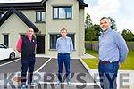 Declan Raggett, Sean Dineen and Sean Ryan Ardfert Community Council launching the Ardfert Community Council Win a Killarney House competition