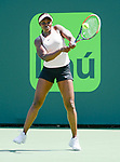 March 29 2018: Sloane Stephens (USA) defeats Victoria Azarenka (BLR) by 3-6, 6-2, 6-1, at the Miami Open being played at Crandon Park Tennis Center in Miami, Key Biscayne, Florida. ©Karla Kinne/Tennisclix/CSM