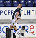 27/09/2008  Copyright Pic: James Stewart.File Name : sct_jspa22_falkirk_v_hamilton.SCOTT ARFIELD CELEBRATES AFTER HE SCORES FALKIRK'S FOURTH GOAL.James Stewart Photo Agency 19 Carronlea Drive, Falkirk. FK2 8DN      Vat Reg No. 607 6932 25.Studio      : +44 (0)1324 611191 .Mobile      : +44 (0)7721 416997.E-mail  :  jim@jspa.co.uk.If you require further information then contact Jim Stewart on any of the numbers above........