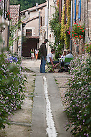 Europe/France/Aquitaine/24/Dordogne/ Saint-Jean-de-Côle: Ruelle - Plus Beaux Villages de France