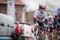 Jasper Philipsen (BEL/UAE-Emirates)<br /> <br /> 74th Nokere Koerse 2019 <br /> One day race from Deinze to Nokere / BEL (196km)<br /> <br /> ©kramon