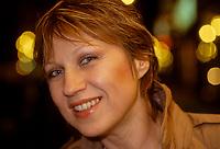 Portrait de la chanteuse montrealaise d'origine allemande  EVA DIETRICH<br /> <br /> (date exacte inconnue) <br /> <br /> PHOTO :  Agence Quebec Presse