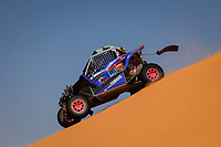 5th January 2021; Dakar Rally stage 3; 391 Liparoti Camelia (ita), Fischer Annett (deu), Yamaha, X-Raid Yamha Racing Rally Supported Team, Light Weight Vehicles Prototype - T3, action during the 3rd stage of the Dakar 2021 between Wadi Al Dawasir and Wadi Al Dawasir, in Saudi Arabia on January 5, 2021