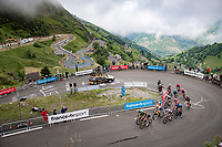 grupetto #1 up Luz Ardiden<br /> <br /> Stage 18 from Pau to Luz Ardiden (130km)<br /> 108th Tour  de France 2021 (2.UWT)<br /> <br /> ©kramon