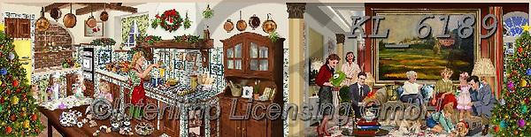 Interlitho-Franco, CHRISTMAS LANDSCAPES, WEIHNACHTEN WINTERLANDSCHAFTEN, NAVIDAD PAISAJES DE INVIERNO, paintings+++++,bakery scene,KL6189,#xl#