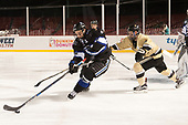 Connor Brassard (Bentley - 7), Zach Evancho (Army - 18) - The Bentley University Falcons defeated the Army West Point Black Knights 3-1 (EN) on Thursday, January 5, 2017, at Fenway Park in Boston, Massachusetts.The Bentley University Falcons defeated the Army West Point Black Knights 3-1 (EN) on Thursday, January 5, 2017, at Fenway Park in Boston, Massachusetts.