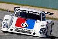 #59 Brumos Porsche/Riley