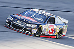 Sprint Cup Series driver Austin Dillon (3) in action during the Nascar Sprint Cup Series Duck Commander 500 practice at Texas Motor Speedway in Fort Worth,Texas.